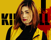 Kill Bill Inspired Photoshoot
