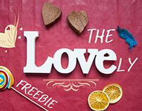 3 Valentine's Realistic Mock-ups for FREE