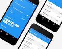 Travel Planner Redesign for Android