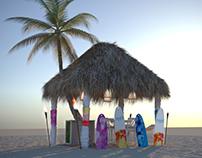Makai Beach Booth