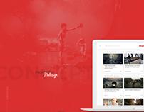 Redesign Concept   Mojevideo.sk   Webdesign 2017