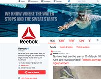 Bringing the Reebok Swimwear Line to life.