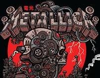 Metallica Tour Poster 2018