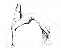Yoga sketches