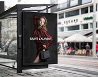 Saint Laurent campaign (PERSONAL PROJECT)