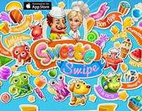 Sweetie Swipe web page