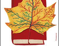 Cartel para Un otoño de novela, 2015