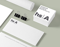 Hudson Studio Architects Identity Design