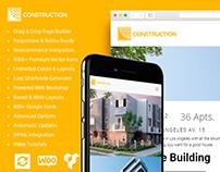 Construction WordPress Theme - Features - Site Builder