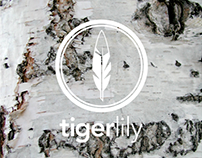 Tigerlily   Logo + Brand Design