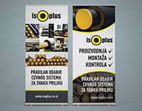 ISOPLUS Brochures and Rollup