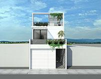 Sketch-Varios proyectos [ápice-arquitectura] Puebla.