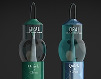 ORAL Teeth Brush (Solar engergy)