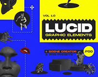 LUCID - Graphic elements and Scene Maker