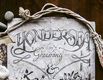 Yondersea // Hand-lettering