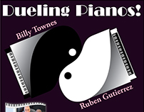 Dueling Pianos Flyer