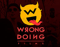 LOGO for WRONG DOING FILMS