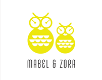 Mabel & Zora Branding