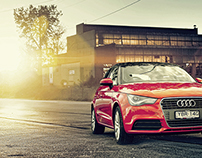 Audi A1 Photoshoot