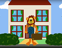 Brian the Lion, Animated Short Film
