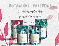 5 Botanical Patterns