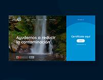 Certificado Azul | Web Design