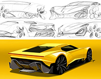 Sketchbook - Lamborghini Miura Concept