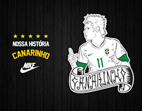 Illustrations for Nike Brasil • Players and Logos