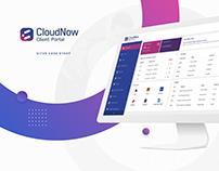 CloudNow Client Portal