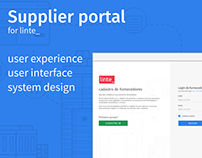 Supplier portal project