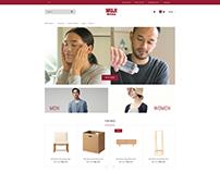 MUJI Website UI