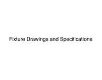 Standard Retail Fixture Drawings
