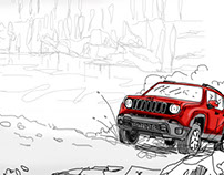 JEEP - storyboard video interactive