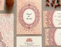 Brocade Invitation Collection