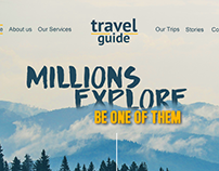Travel Guide Website