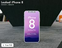 iPhone 8 Mockup | Free PSD | 3 mockups