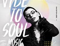 Music Soul PSD Flyer Template