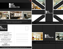 Just Fitted Kitchens post card design