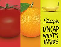SHARPIE  Uncap what's inside