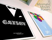 15 Minimalist Movies Posters