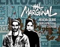 Arte para revista - El Marginal | Universal Channel