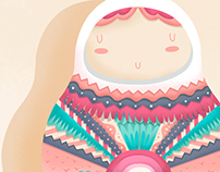 'I think we live in a matrioska' - Illustration project