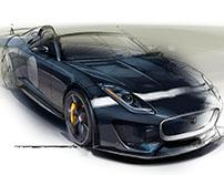 Art Render - Jaguar Project 7