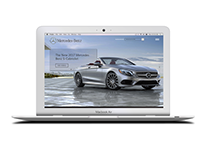 Mercedes Concept UI