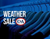 Weather sale.