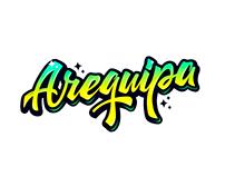 AREQUIPA (Lettering & fotografía)