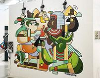 Gyeonggi Museum of Art in street&graffiti exhibition