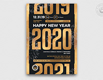 New Year Flyer Template V11