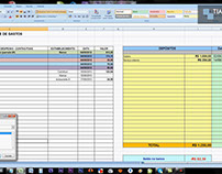 Finanças - Controle de Despesas - Excel Básico - simple