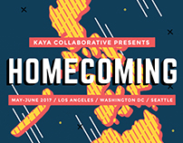 Kaya Co Homecoming Flyer